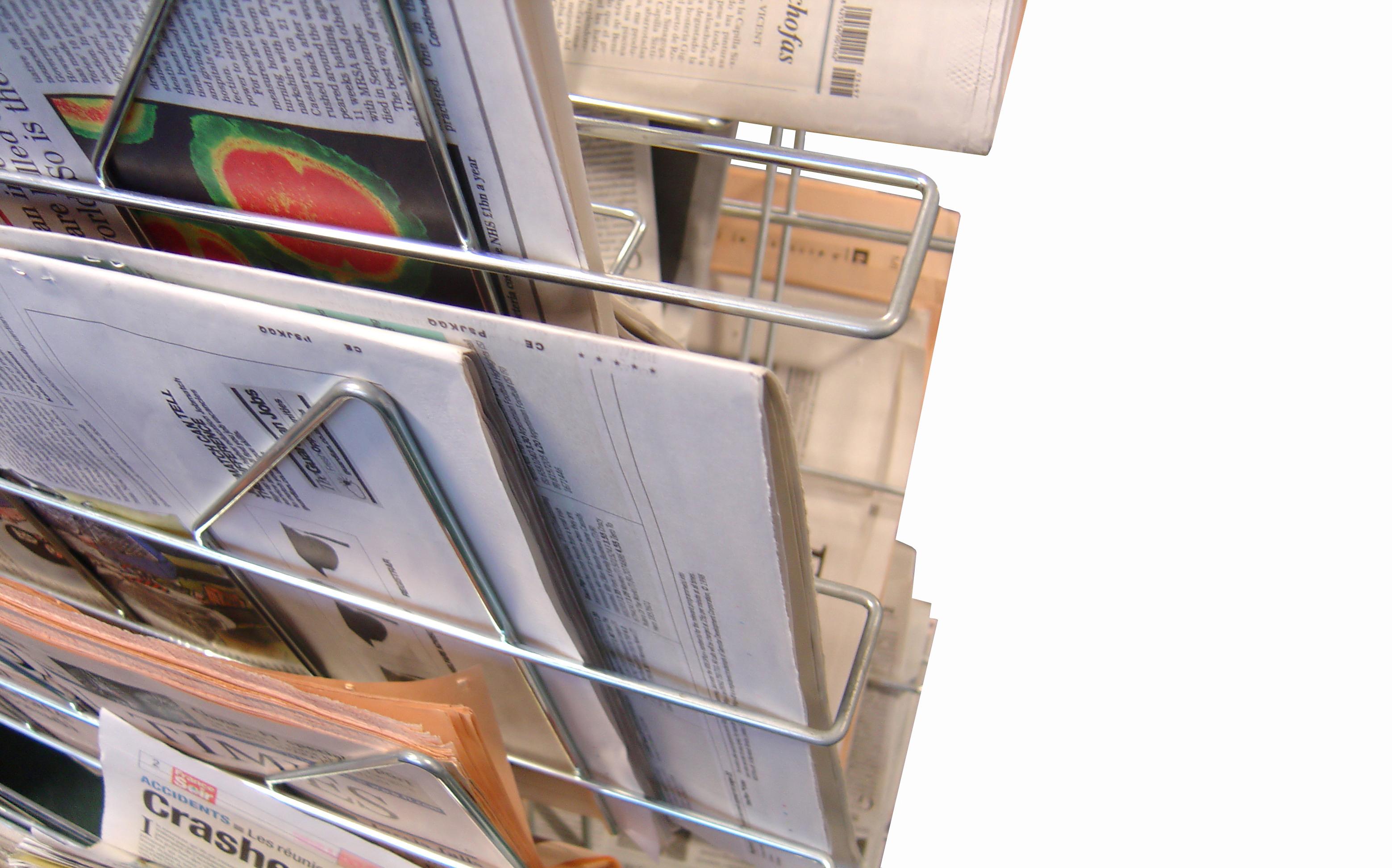 Zeitungen engl